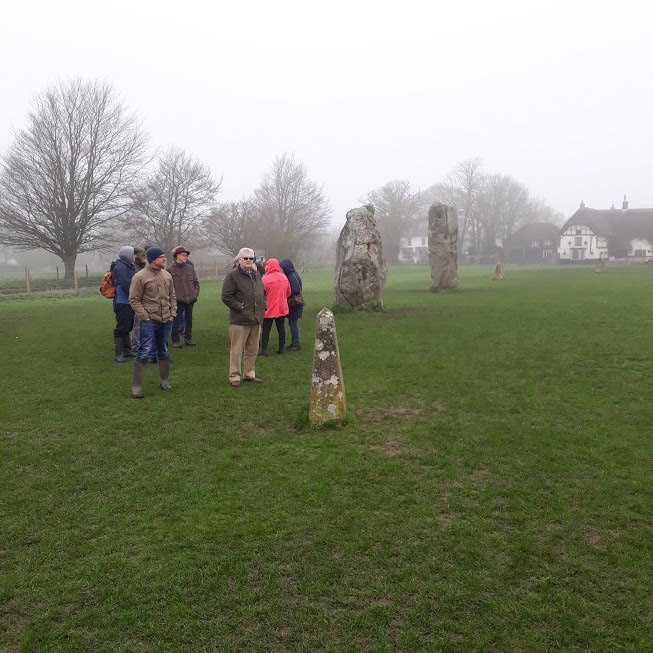 a trip to the standing stones at avebury