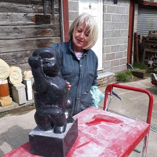 Barbara Hepworths ebony sculpture