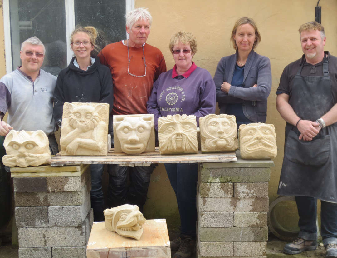 Stone Carving Studio - Group