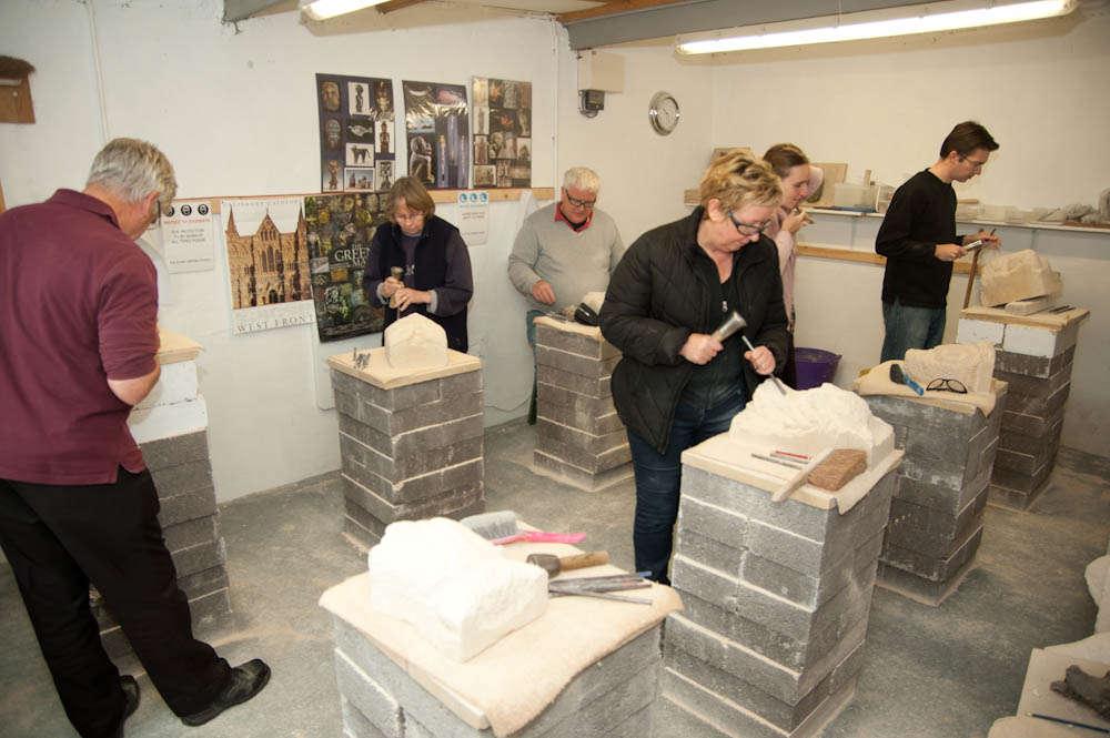 Stone Carving Studio - Classes 2