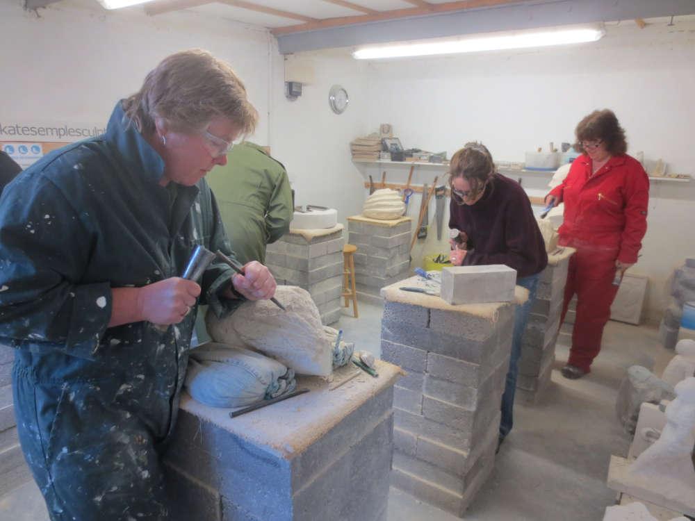 Stone Carving Studio - Classes 3