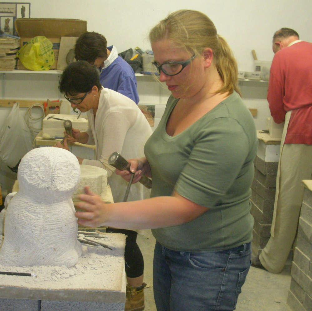 Stone Carving Studio Classes